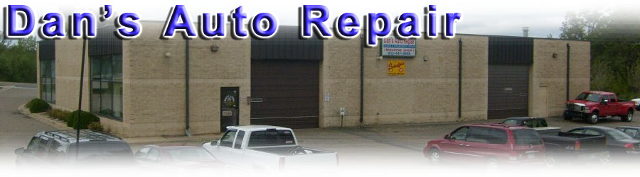 An automotive repair & machine shop facility specializing in  Diagnostics, Suspension & Steering repair, Brake work, Electrical, Tune-ups, Oil Changes, Tires, Cooling System service, Transmission service & Drive Line repair. Dans Auto Repair is located in Prior Lake, MN & can fix your car, truck, van
